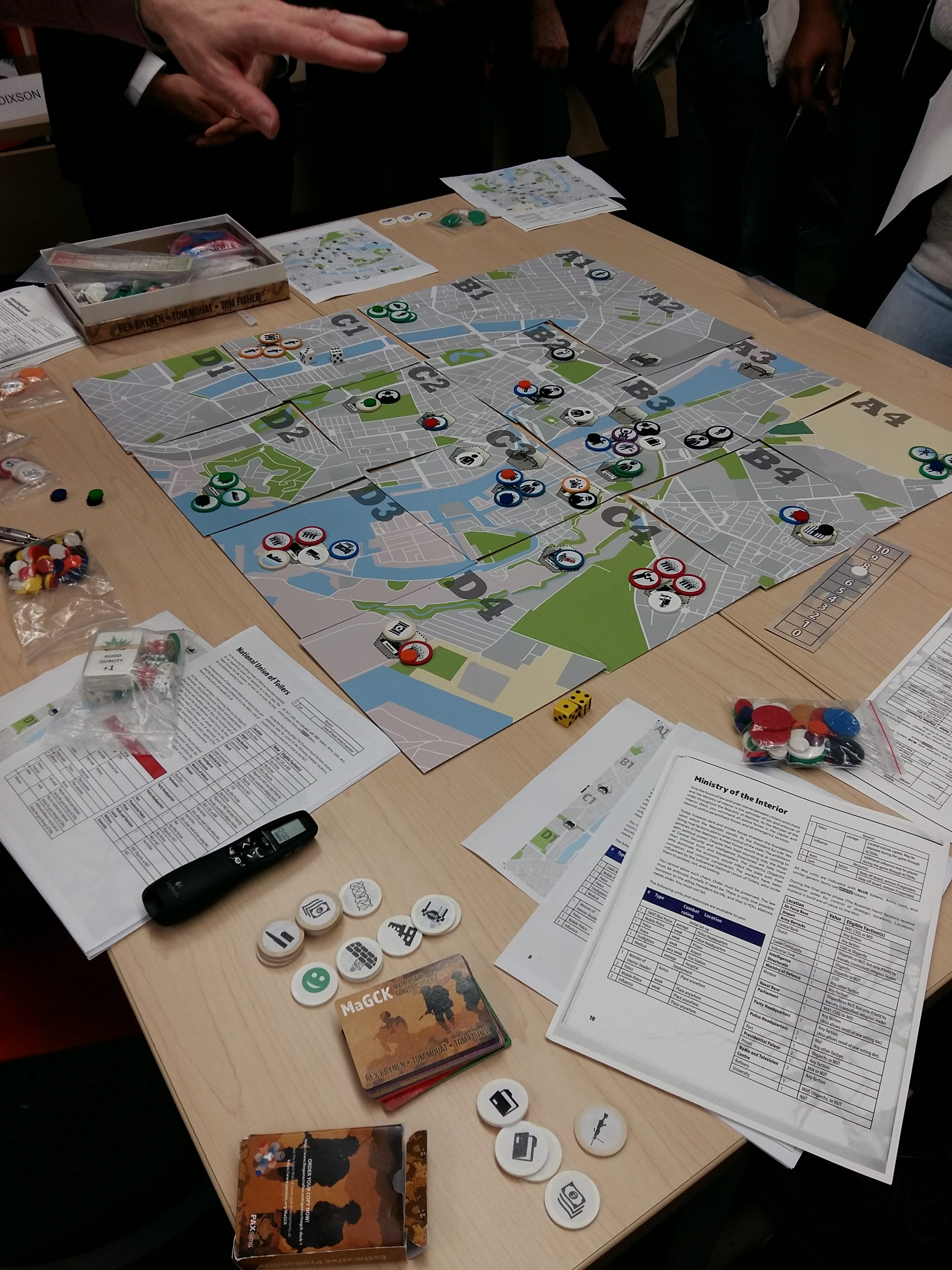 """""""Serious Games for Policy Analysis and Capacity-Building"""" Workshop Review"""